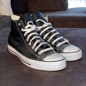 Leather Hightop Chucks